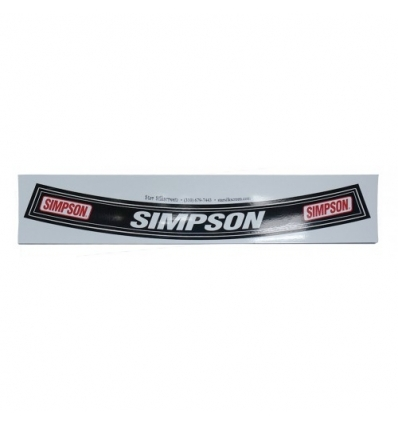 Simpson Shield Sticker