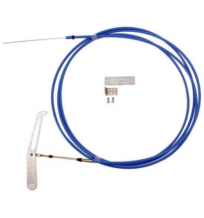 Brake chute release cable kit