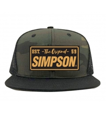 Simpson Camo Snap-Back Hat