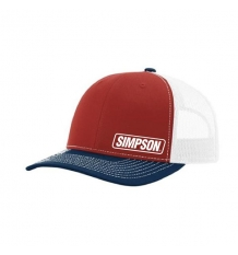Simpson Red/White/Blue Hat