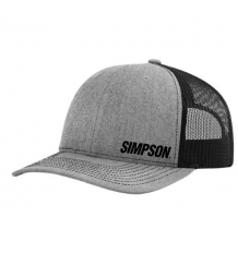 Simpson Ashen Grey Snap-Back Hat